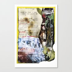 Recollections  Canvas Print