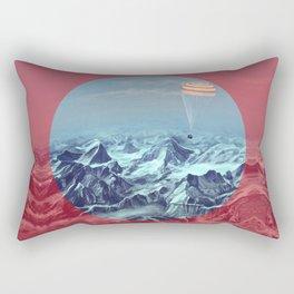 astronaut returns Rectangular Pillow