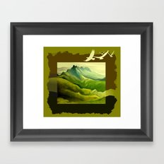 The Eyrie Framed Art Print