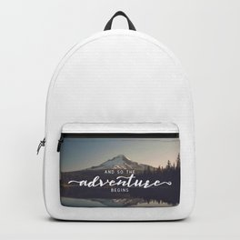 Trillium Adventure Begins - Nature Photography Backpack