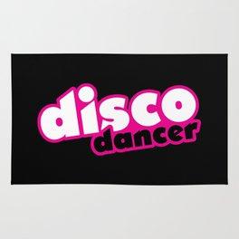 Disco Dancer Music Quote Rug