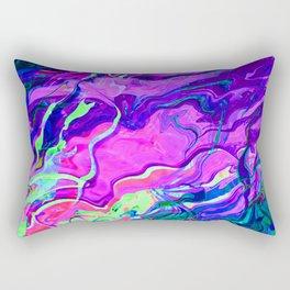 Neon Waters Rectangular Pillow