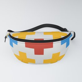 Colorful Cross Fanny Pack
