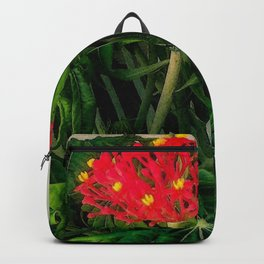 Flowering Coral Plant Backpack