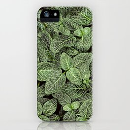 Just Green iPhone Case