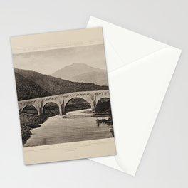 Ponte Nuovo Les Travaux Publics de la France Stationery Cards