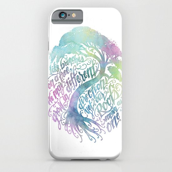 Our Roots Remain As One iPhone & iPod Case