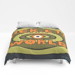 sick eye world Comforters