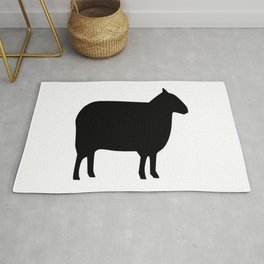 Sheep Silhouette Rug