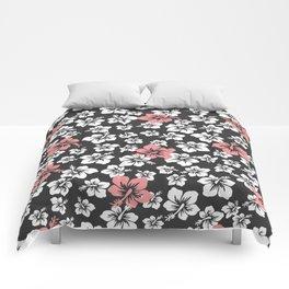 Hibiscus' storm Comforters