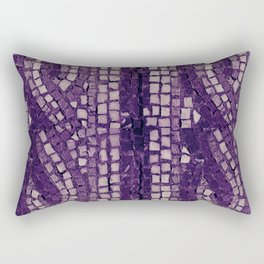 stone tile 4378 ultra violet Rectangular Pillow