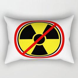 Against Atom Rectangular Pillow