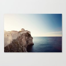 On the Wall Canvas Print