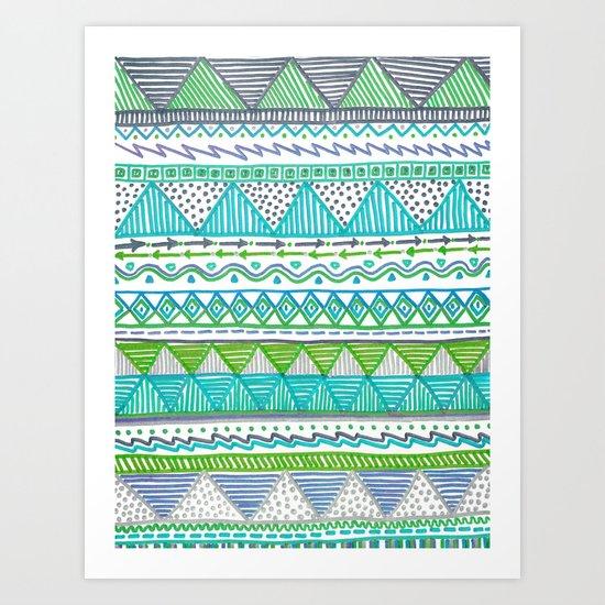 Ocean T Art Print