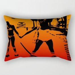 The Girls of Summer Rectangular Pillow