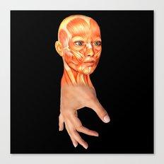 HAND FACE SKIN Canvas Print