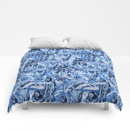 Eskimo Curlew Blue Comforters