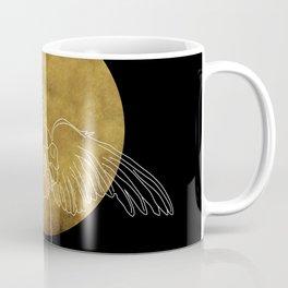 michael and the moon Coffee Mug