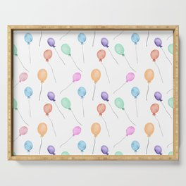 Balloons Serving Tray