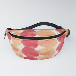 4  | 190408 Red Abstract Watercolour Fanny Pack