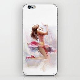dancing iPhone Skin