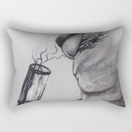 Anonymous Toker Rectangular Pillow
