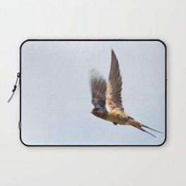 Male barn swallow in flight Laptop Sleeve