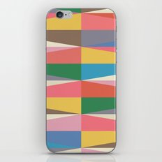Blooming Triangles iPhone & iPod Skin