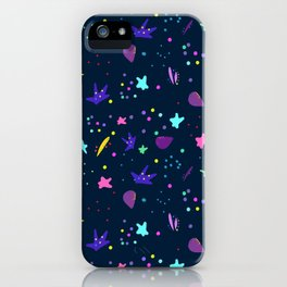 Whimsy Pattern for Fun People iPhone Case
