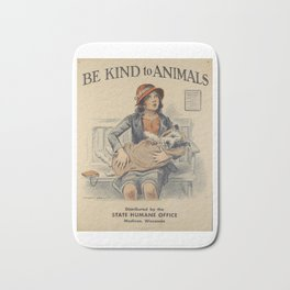 Be Kind To Animals 4 Badematte