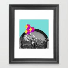 Cookie Puss Framed Art Print
