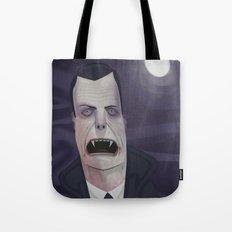 Count Dracula Tote Bag