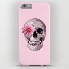 FLOWER SKULL Slim Case iPhone 6s Plus
