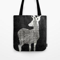 Deer City Collage 3 Tote Bag