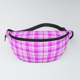 Tartan Pretty Pink Plaid Fanny Pack
