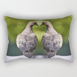 Dove Love Birds Rectangular Pillow
