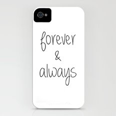 Forever & Always iPhone (4, 4s) Slim Case