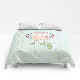 Sundara Happy Mermaid Comforters