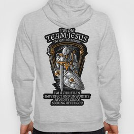Knight Templar Crusader Shirt - I'm on Team Jesus Hoody