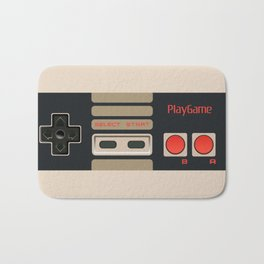 Retro Gamepad Bath Mat