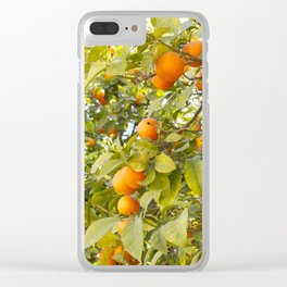 Fruits of Greece Clear iPhone Case