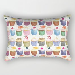 Cupcake Cluster Rectangular Pillow