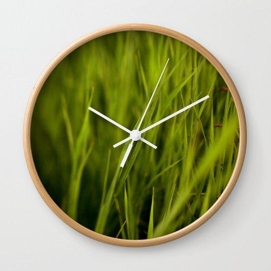 Greener #2 Wall Clock