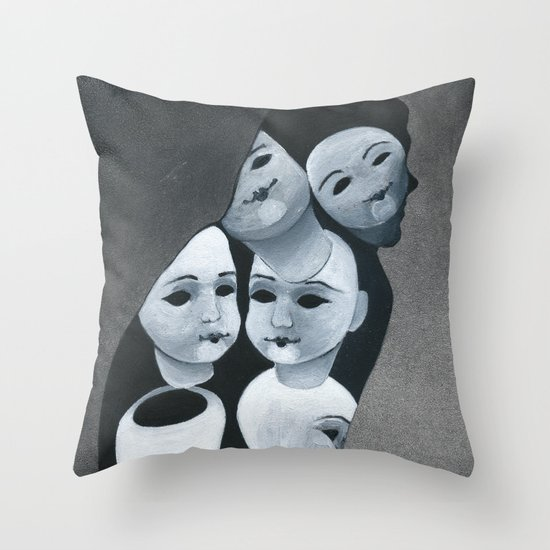 The Aging Ritual Throw Pillow