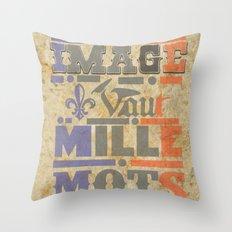 Napoleons Quote Throw Pillow