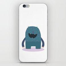 BLUE MONSTER iPhone & iPod Skin