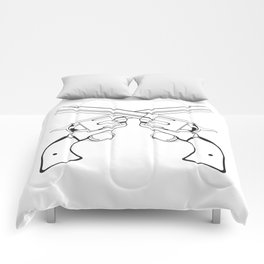 Crossed Colts Comforters