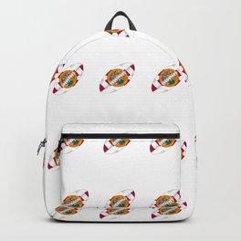Florida USA Football Ball Flag Backpack