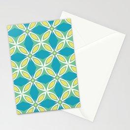 Crêperie ceramic tile pattern Stationery Cards