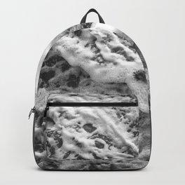 Black & White Ocean Beauty #1 #wall #decor #art #society6 Backpack